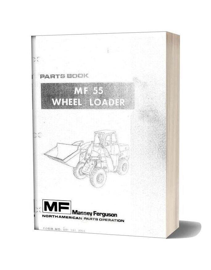 Massey Ferguson Mf55 Wheel Loader Part Manual