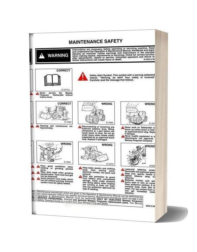 Massey Ferguson Mf8947 Shop Manual