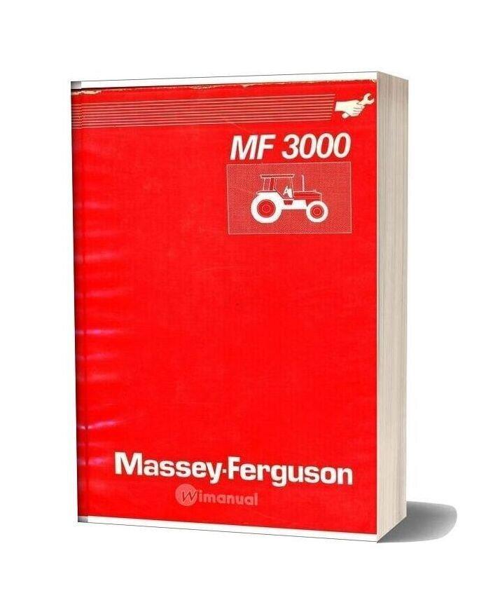 Massey Ferguson Tractor Mf3000 Serie Workshop Manual