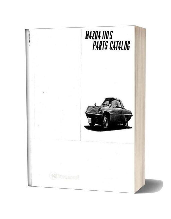 Mazda 110s Cosmo Parts Catalog