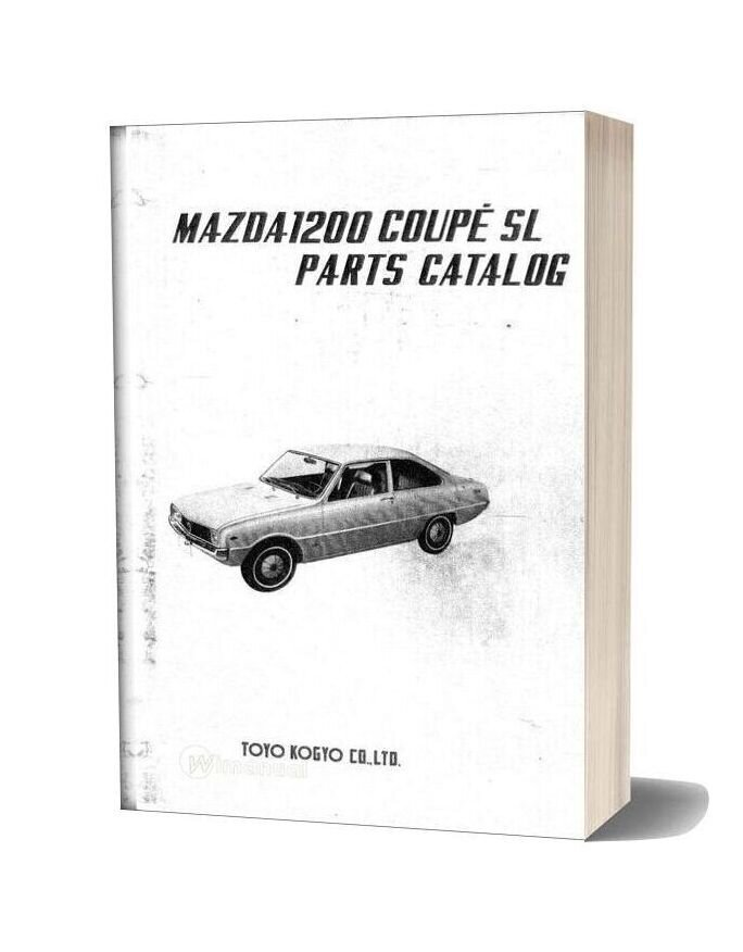 Mazda 1200 Couple Familia Parts Catalog