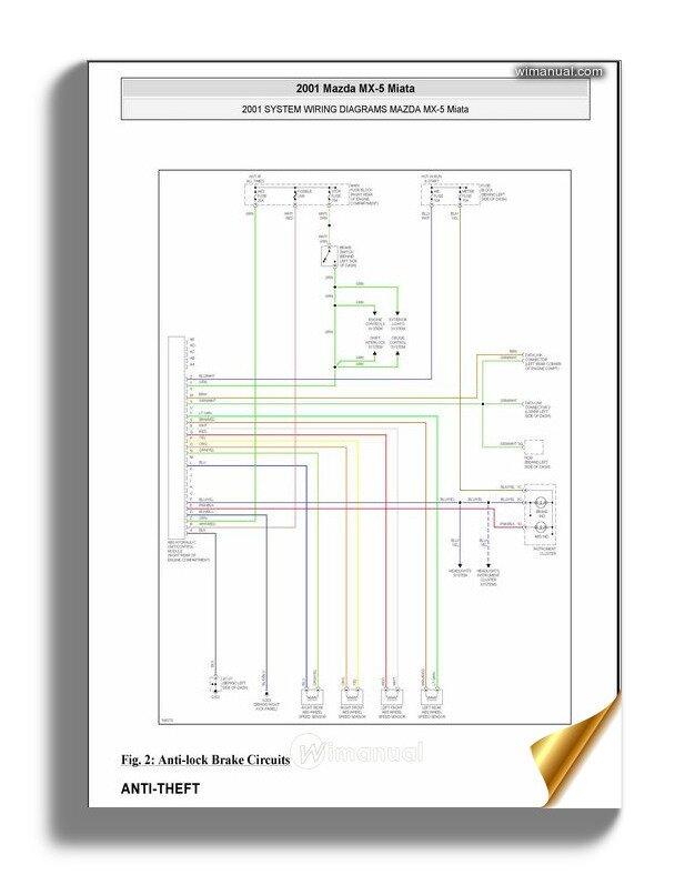 Mazda 2001 Wiring Diagram