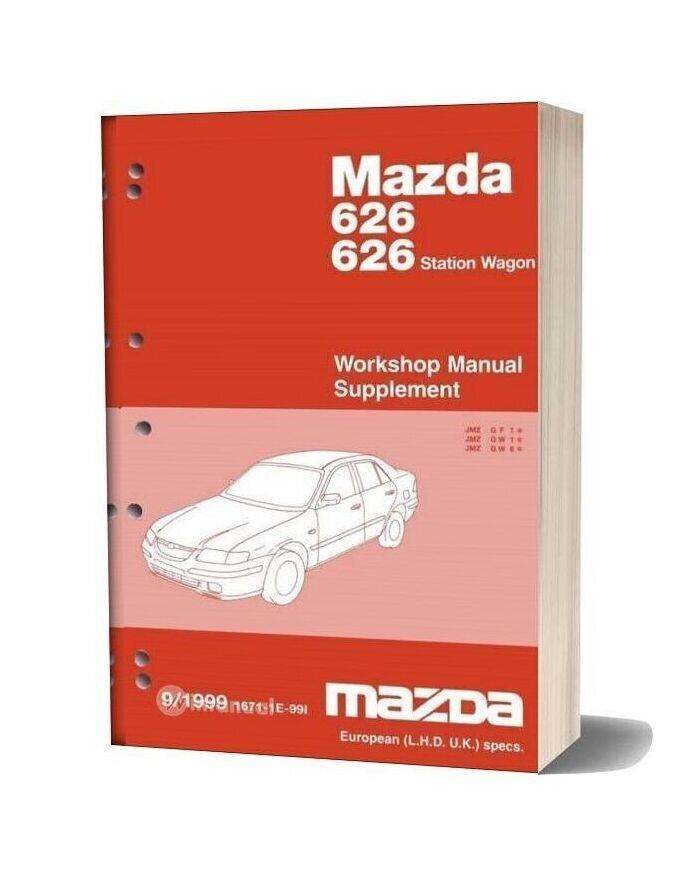 Mazda 22 Mazda 626 1998 2002 Workshop Manual