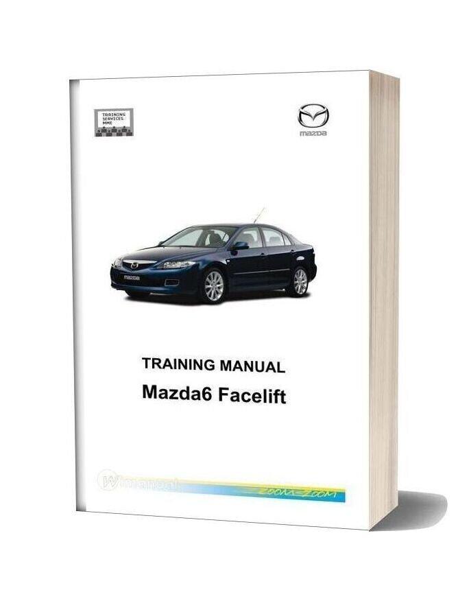 Mazda 6 Facelift Technical Training