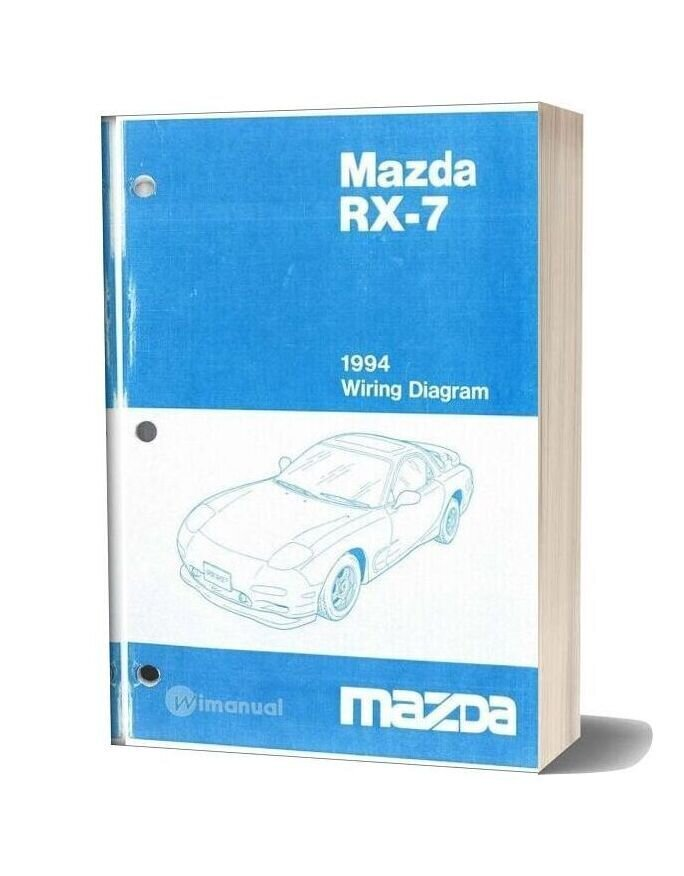 Mazda 94 Wiring Diagram
