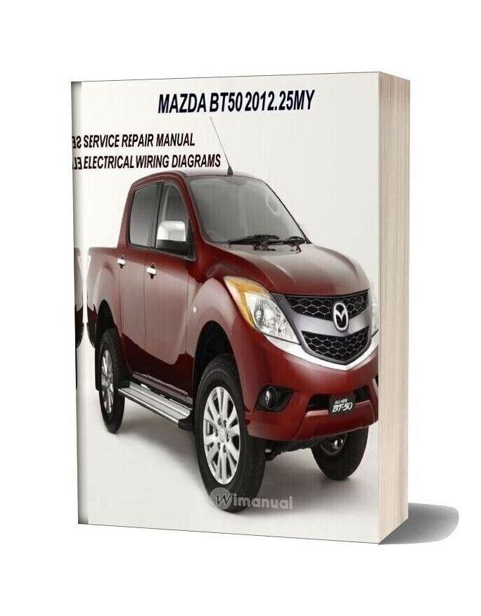 Mazda Bt 50 2012 Workshop Repair Manual