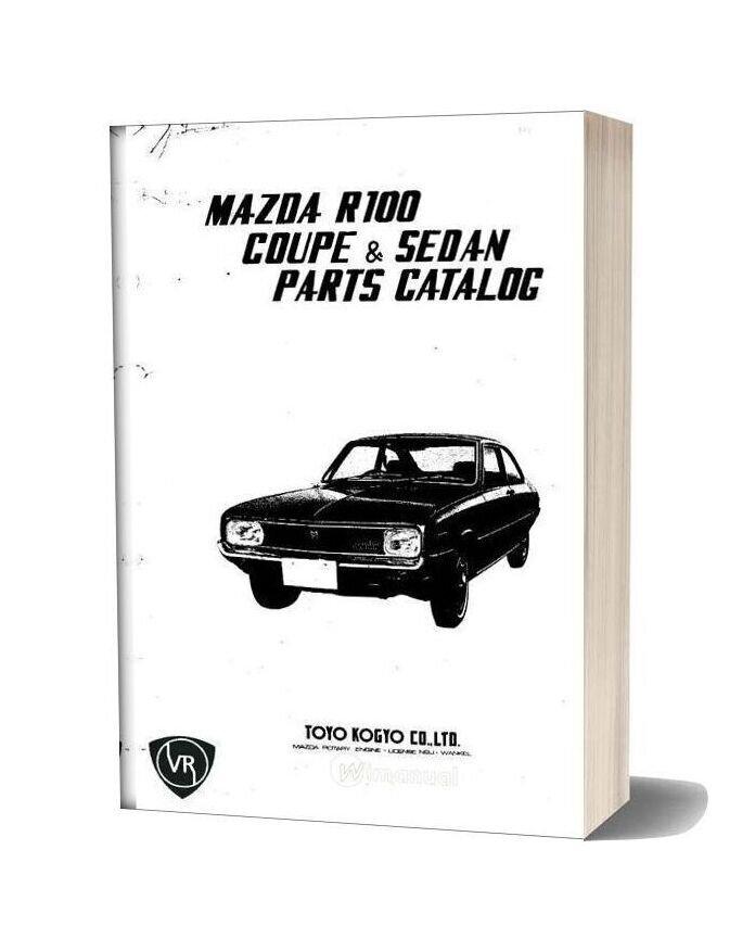 Mazda R100 Parts Catalos Vol 1 Small