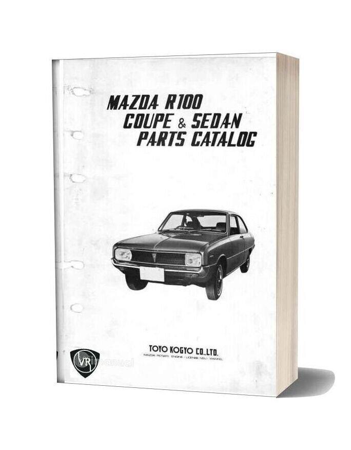 Mazda R100 Parts Catalos Vol 2 Small