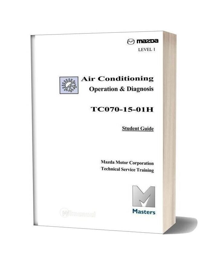 Mazda Technical Service Training Air Conditioning Operation Diagnosis