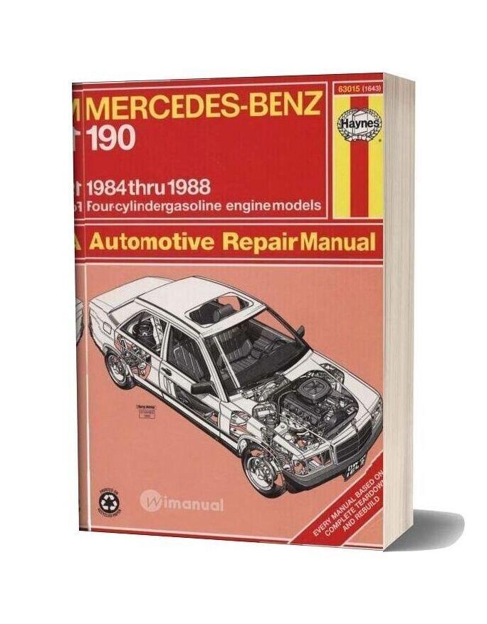 Mercedes Benz 190 Repair Haynes 1984 88