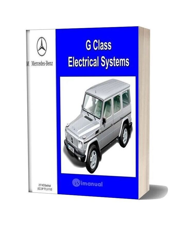 Mercedes Benz G Class Electrical Systems