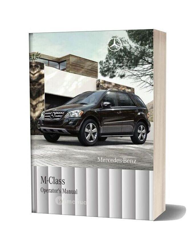 Mercedes Benz M Class Operators Manual 2011