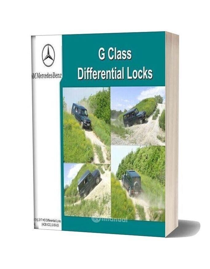 Mercedes Benz Technical Training 217 Ho 03 Diff Locks Acb Ic Tf