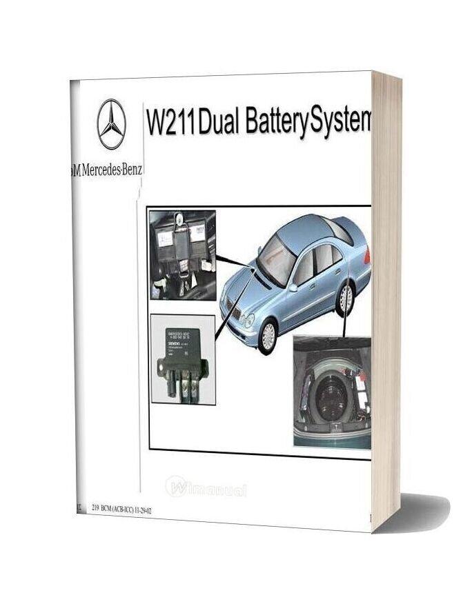 Mercedes Benz Technical Training 219 Ho Dual Battery Acb Icc 11 29 02