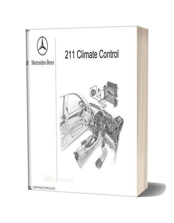 Mercedes Benz Technical Training 219 Ho Hvac Twk 8 30 02