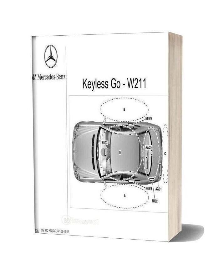 Mercedes Benz Technical Training 219 Ho Kg Gc Rp 08 16 02
