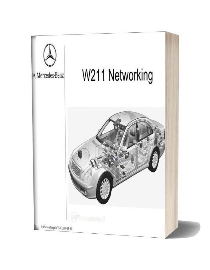Mercedes Benz Technical Training 219 Ho Networking Acb Icc 09 03 02