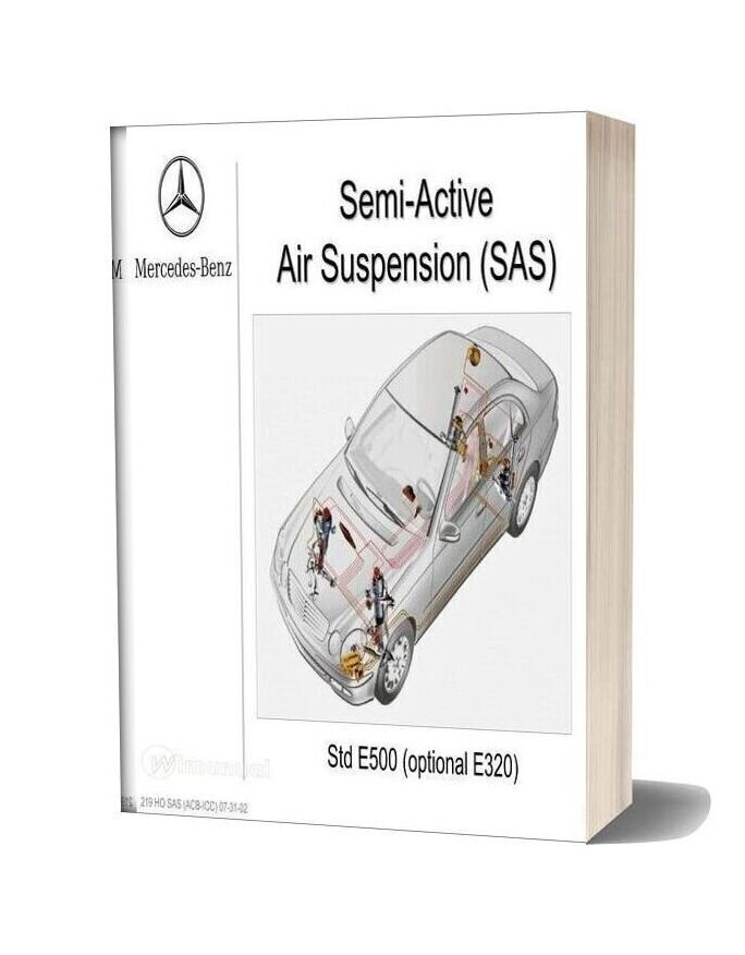 Mercedes Benz Technical Training 219 Ho Sas Acb Icc 07 31 02
