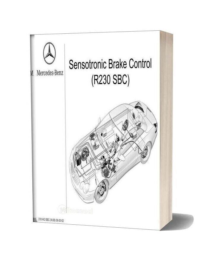 Mercedes R230 Sensotronic Brake Control Training