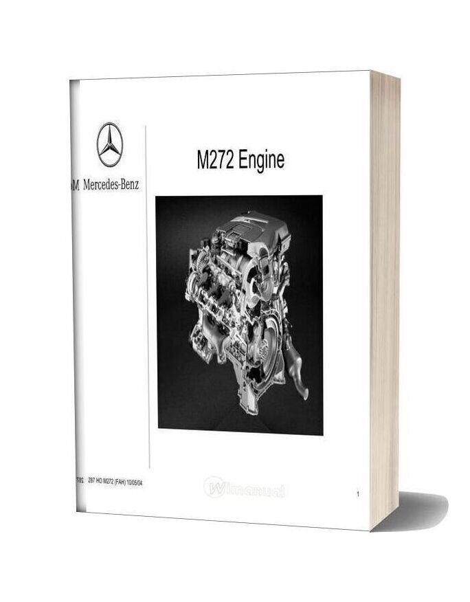 Mercedes Technical Training 287 Ho 03 M272 Engine 0 Fah 08 05 04