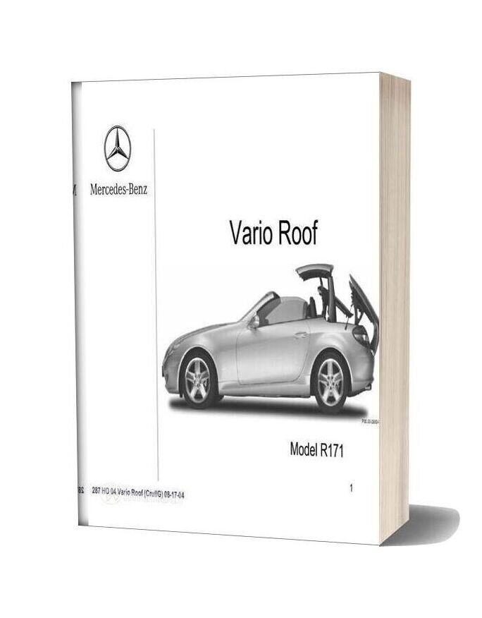 Mercedes Technical Training 287 Ho 04 Vario Roof Crullg 08 17 04