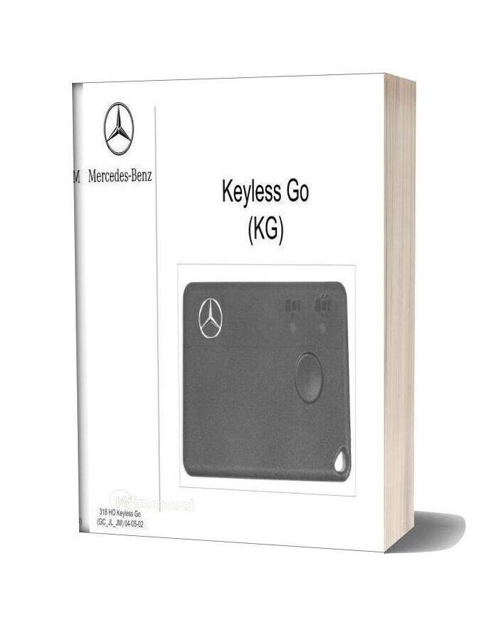 Mercedes Technical Training 318 Ho Keylessgo Jl Jm Gc 04 05 02