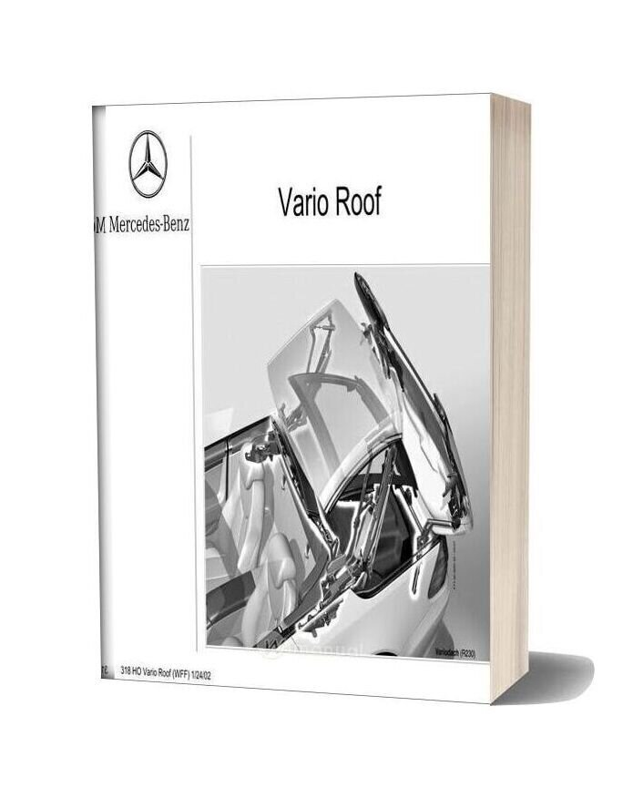 Mercedes Technical Training 318 Ho Vario Roof Wff 01 24 02