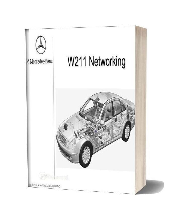 Mercedes Technical Training 319 Ho Networking Acb Icc 09 03 02