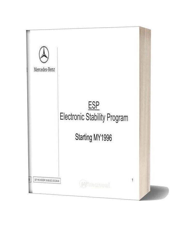 Mercedes Technical Training 327 Ho 05 Esp Wjb Gc 02 26 04