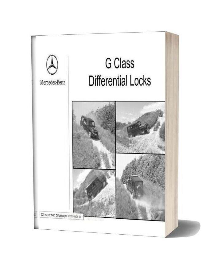 Mercedes Technical Training 327 Ho 08 W463 Diff Locks Acb Ic Tf 03 01 04