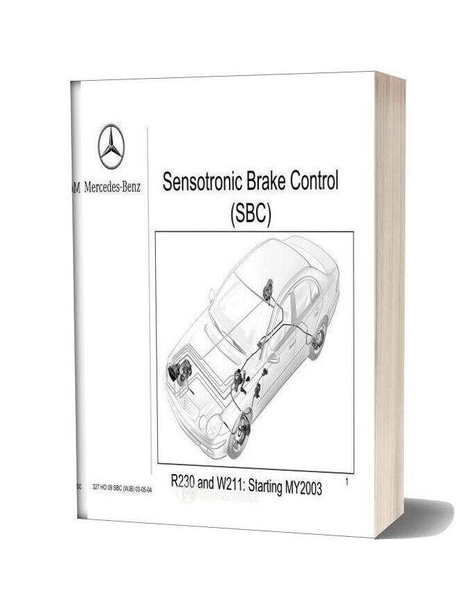 Mercedes Technical Training 327 Ho 09 Sbc Wjb 03 05 04