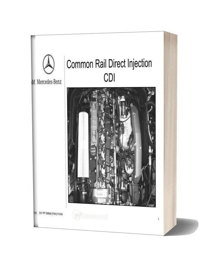 Mercedes Technical Training Common Rail Direct Injection Cdi