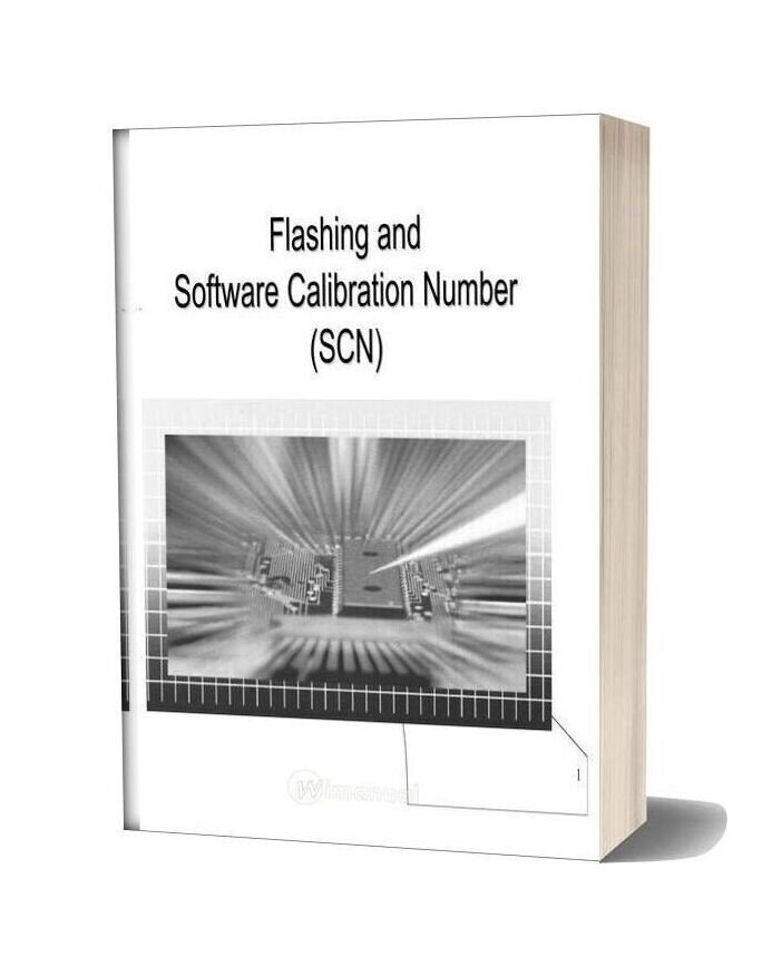 Mercedes Technical Training Flashing And Software Calibration Number Scn