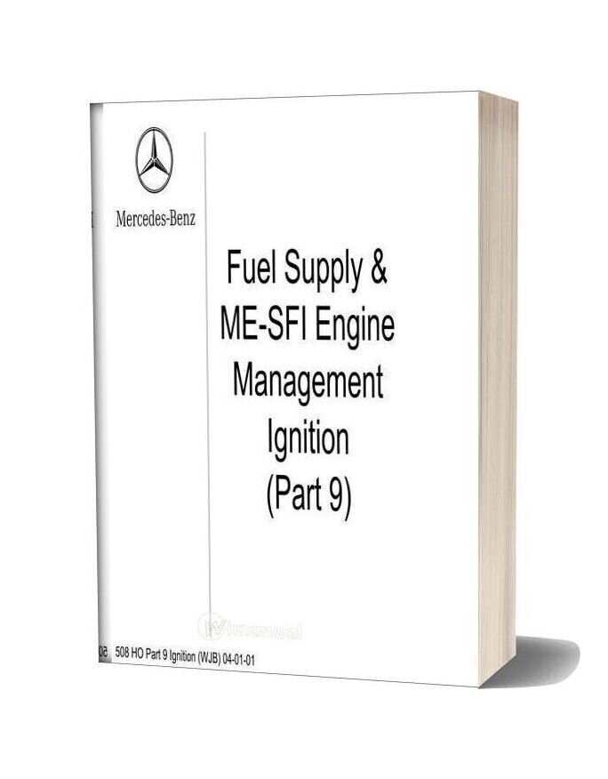 Mercedes Technical Training Ho Part 09 Ignition Wjb