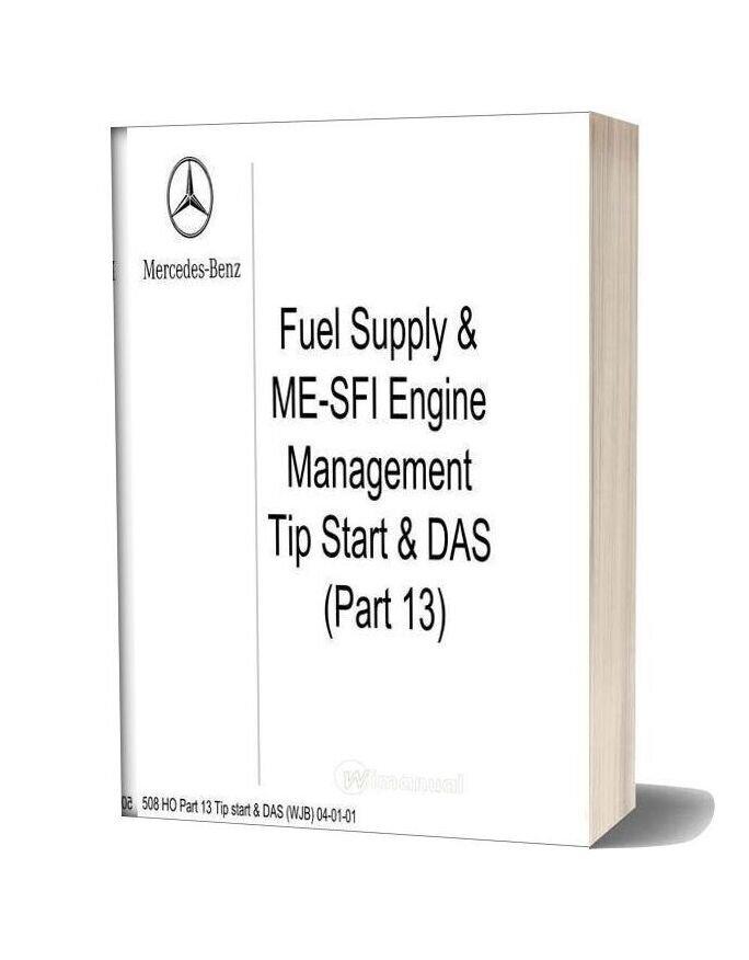 Mercedes Technical Training Ho Part 13 Tip Start Das Wjb