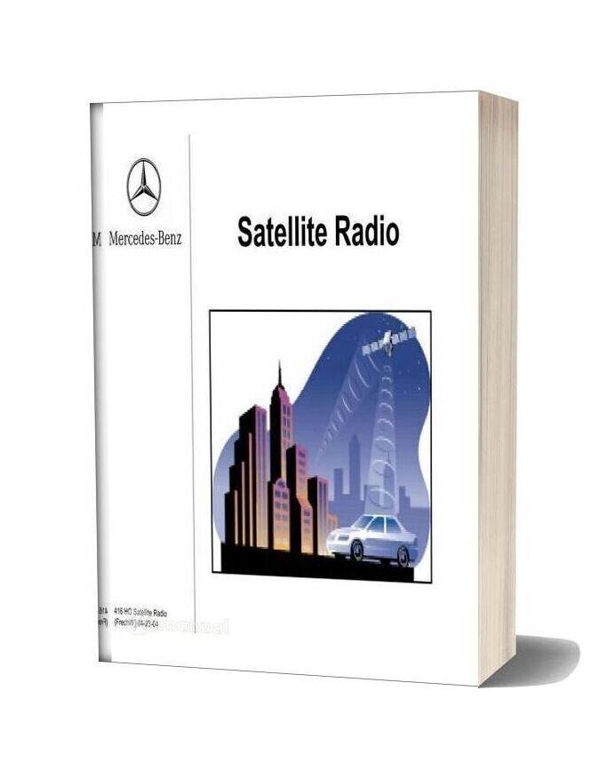 Mercedes Technical Training Ho Satellite Radio Frechw