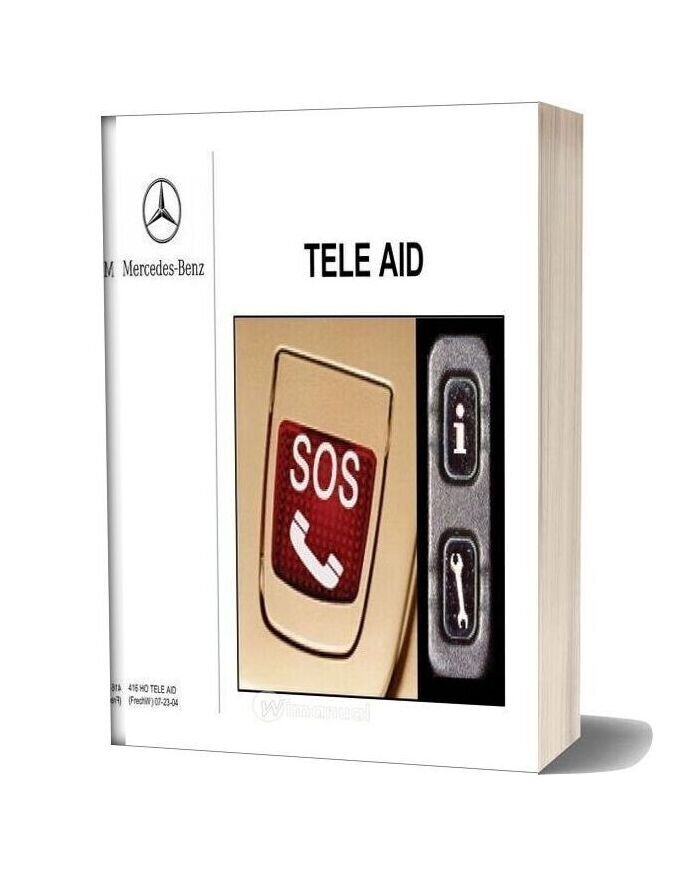 Mercedes Technical Training Ho Tele Aid Frechw
