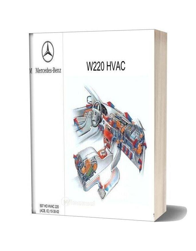 Mercedes Technical Training Hvac 220 Acb Ic