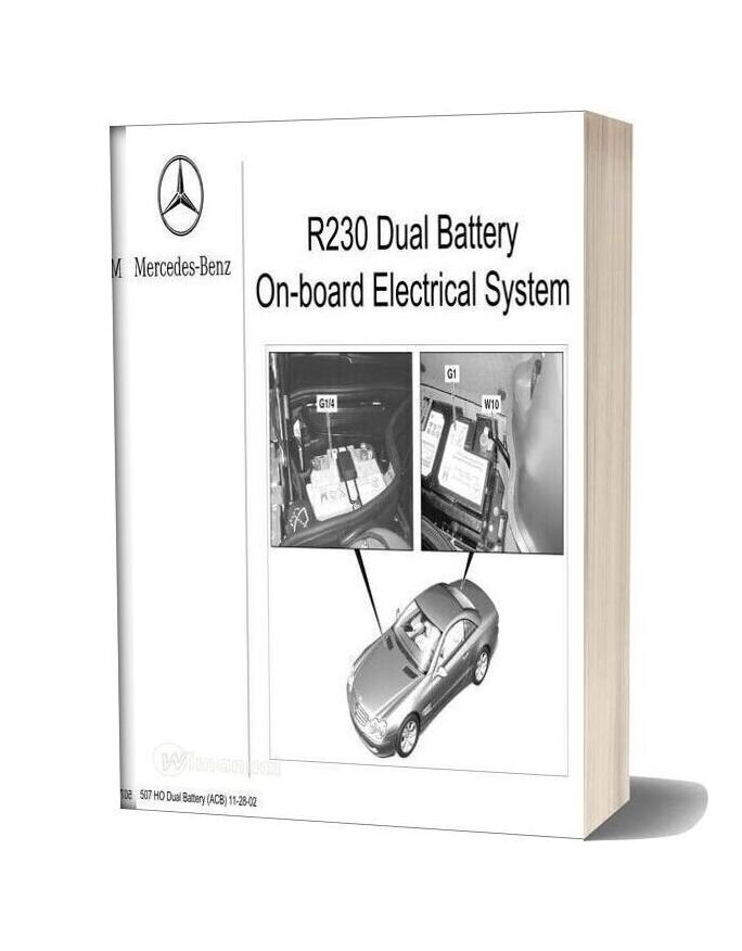 Mercedes Technical Training R230 Dual Battery System
