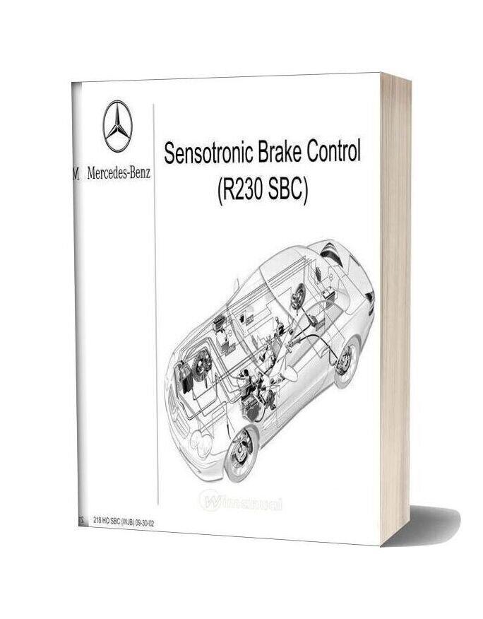 Mercedes Training 218 Ho Sbc Wjb