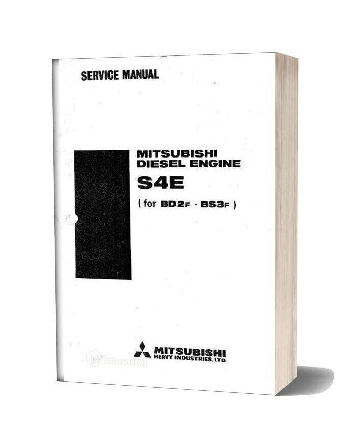 Mitsubishi Diesel Bd2f Bs3f Service Manual Ocr