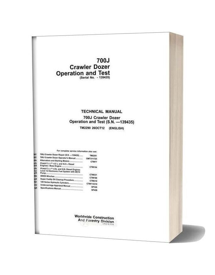 New Holland 700j Crawler Dozer Operation And Test