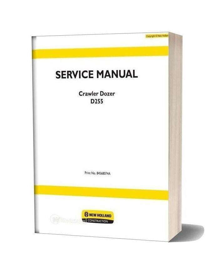 New Holland Crawler Dozer D255 En Service Manual
