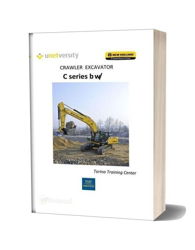 New Holland Crawler Excavator C Series Nrc Training Center