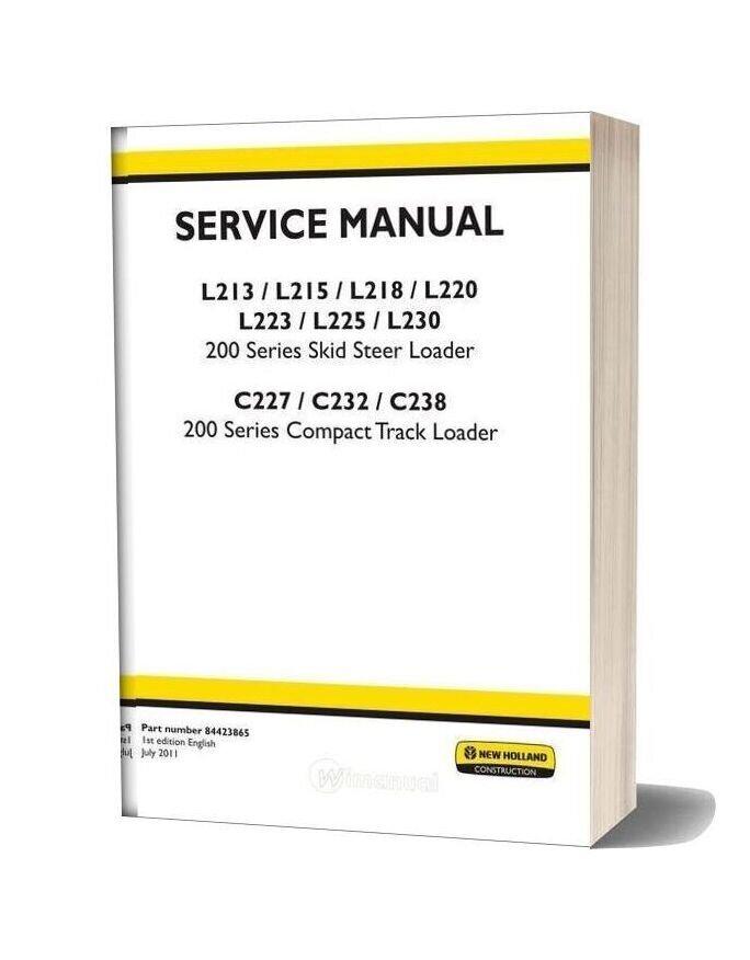 New Holland L220 Service Manual