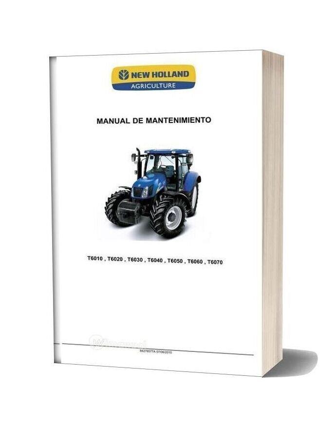 New Holland Mr T6000 Maintenance Manual Es