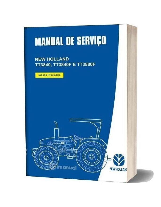 New Holland Tt3840 Tt3840f E Tt3880f Service Manual Es