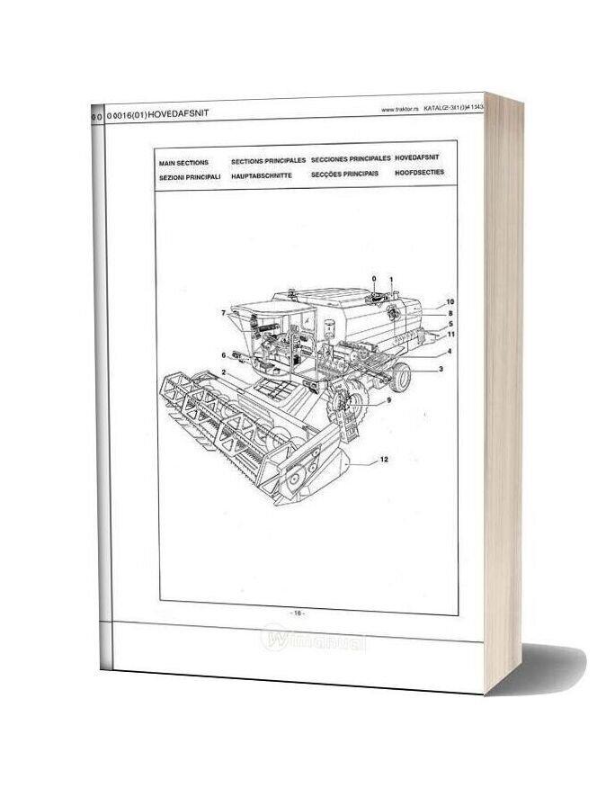 New Holland Tx 62 63 64 65 66 67 Parts Catalogue