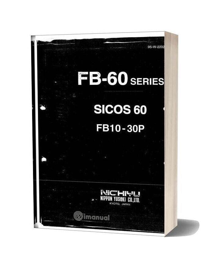 Nichiyu Forklift 469 Fb 60 Series Service Manual