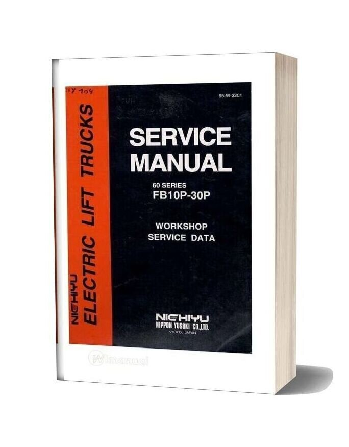Nichiyu Forklift Fb10 30p Sicos 60 Service Manual